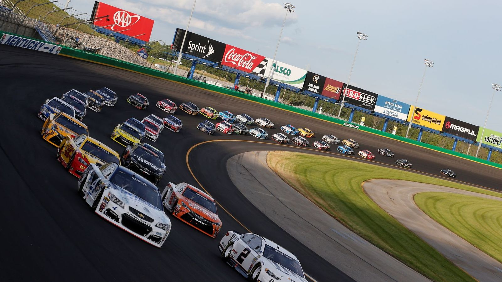 Track Facts Fan Info Kentucky Speedway