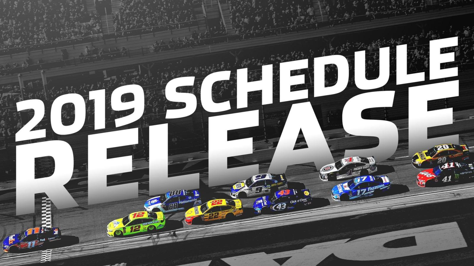 2019 Monster Energy Nascar Schedule Revealed Quaker State 400 Set