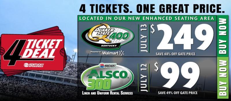 4 Ticket Deal