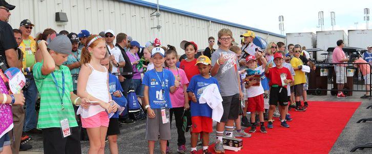 Kids Drive NASCAR