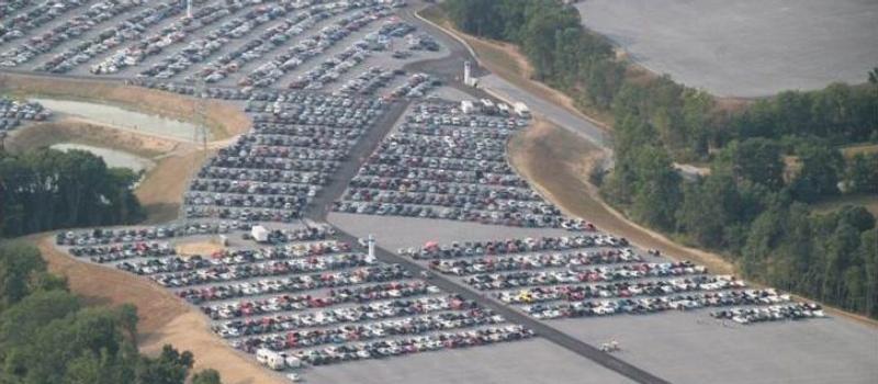 Toyota Parking Lot