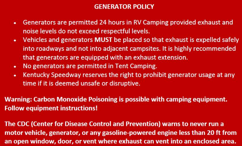 Generator Policy