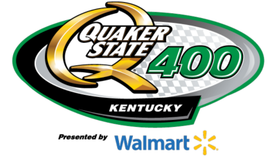 Quaker State 400 presented by Walmart Logo
